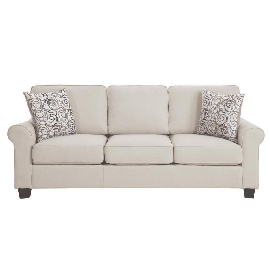 Selkirk Sofa by Homelegance Furniture at Del Sol Furniture