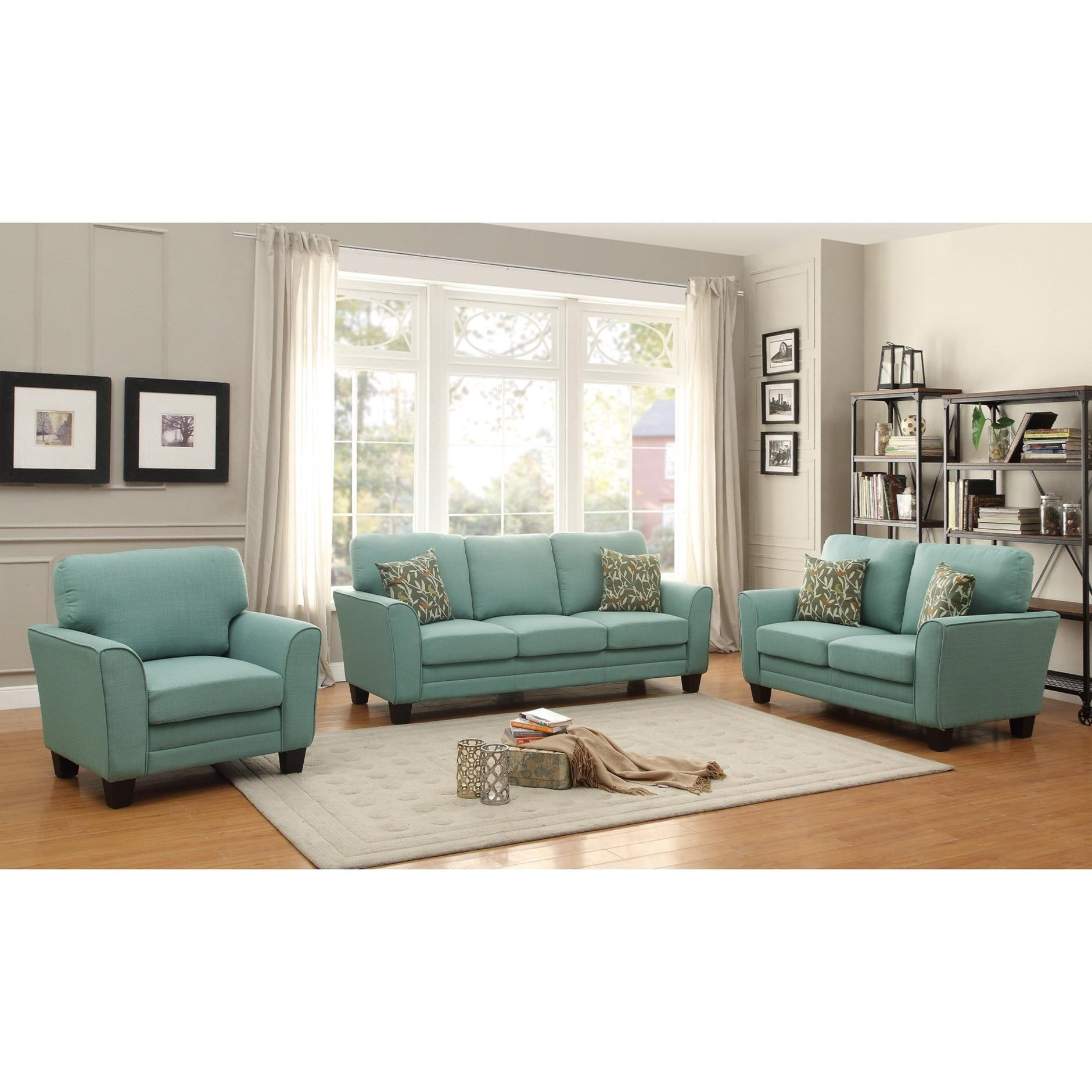 Adair Living Room Group by Homelegance at Carolina Direct