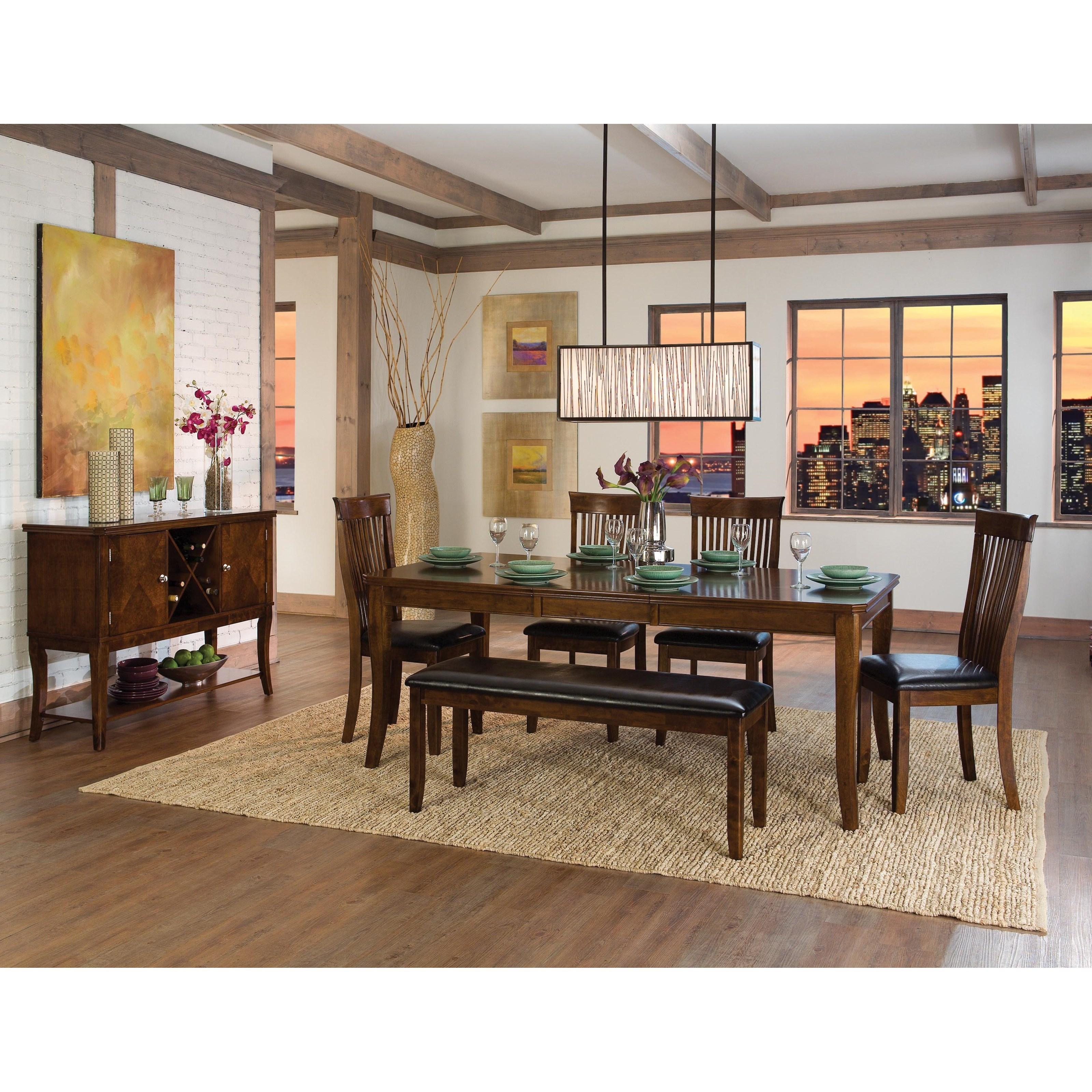 Alita Formal Dining Room Group by Homelegance at Carolina Direct