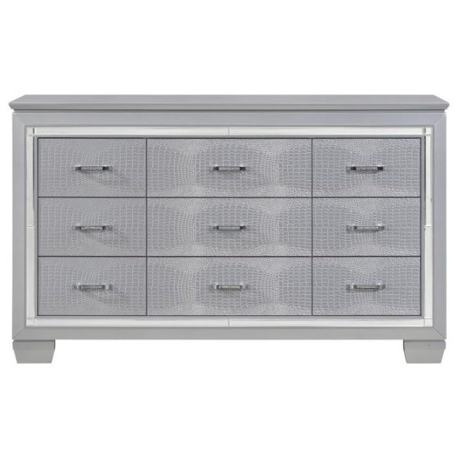 Allura Dresser by Homelegance at Simply Home by Lindy's
