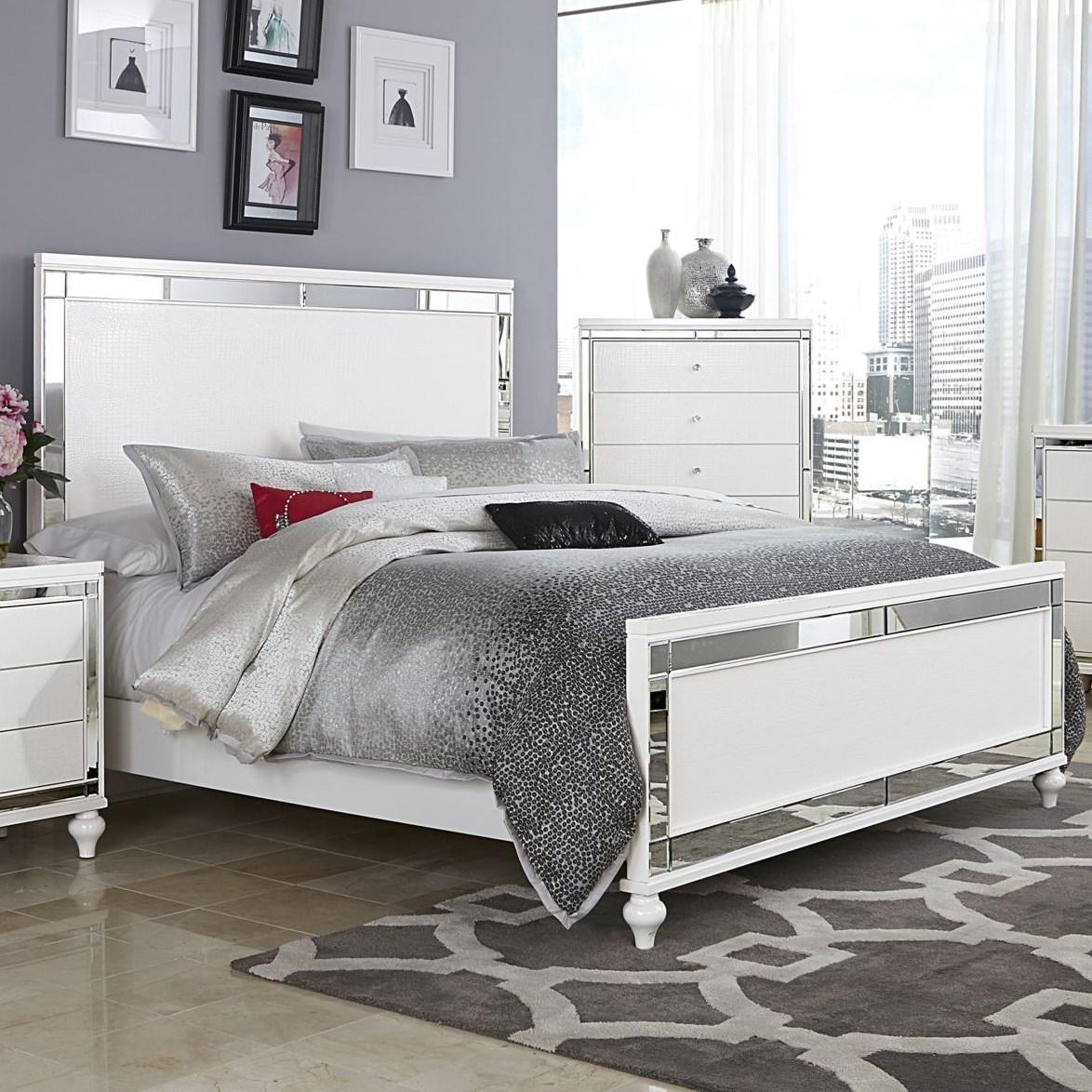 Alonza Cal King Bed by Homelegance at Carolina Direct
