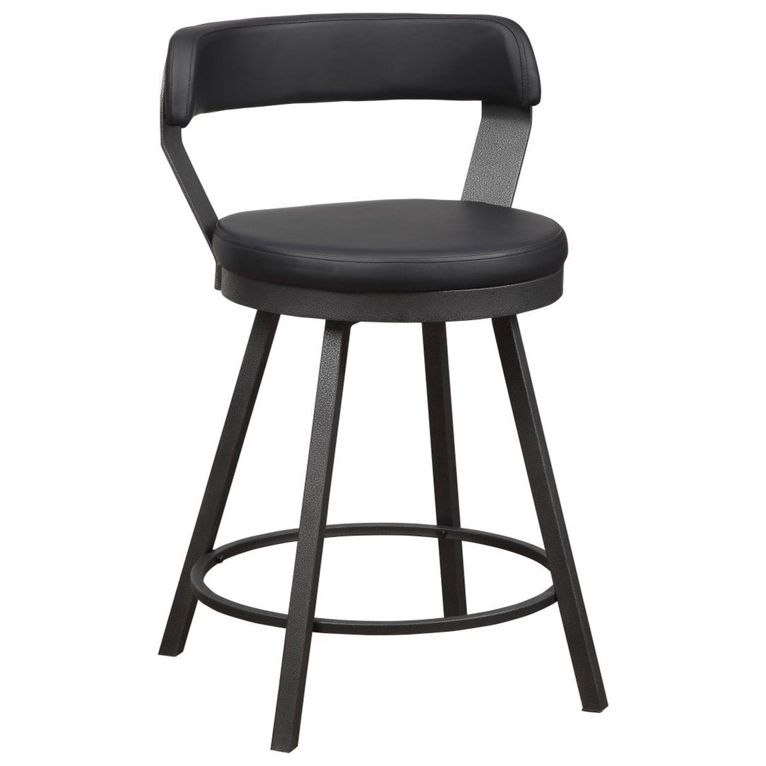 Appert Swivel Counter Height Chair by Homelegance at Darvin Furniture