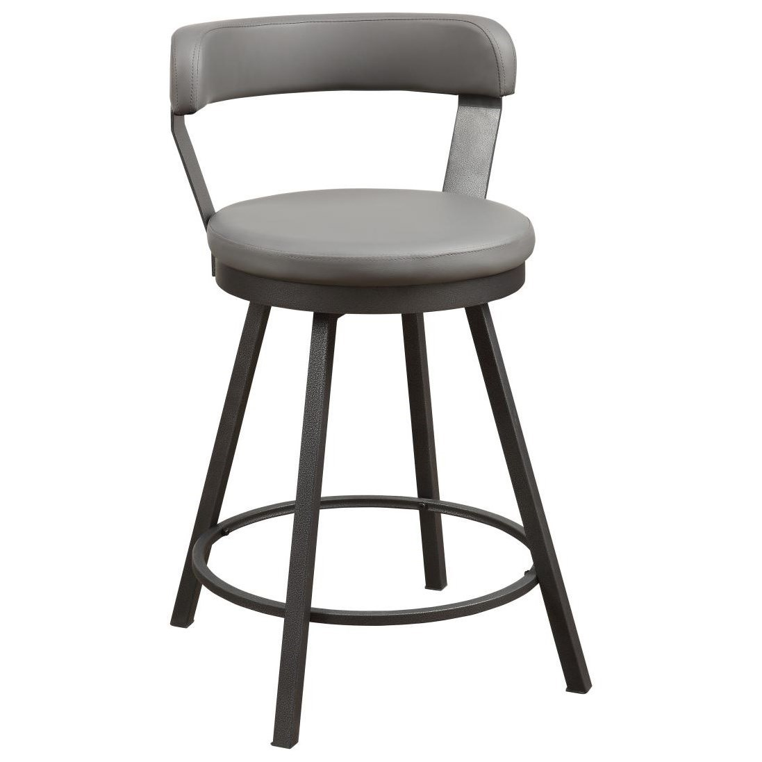 5566 Series Swivel Counter Height Bar Stool by Home Style at Walker's Furniture
