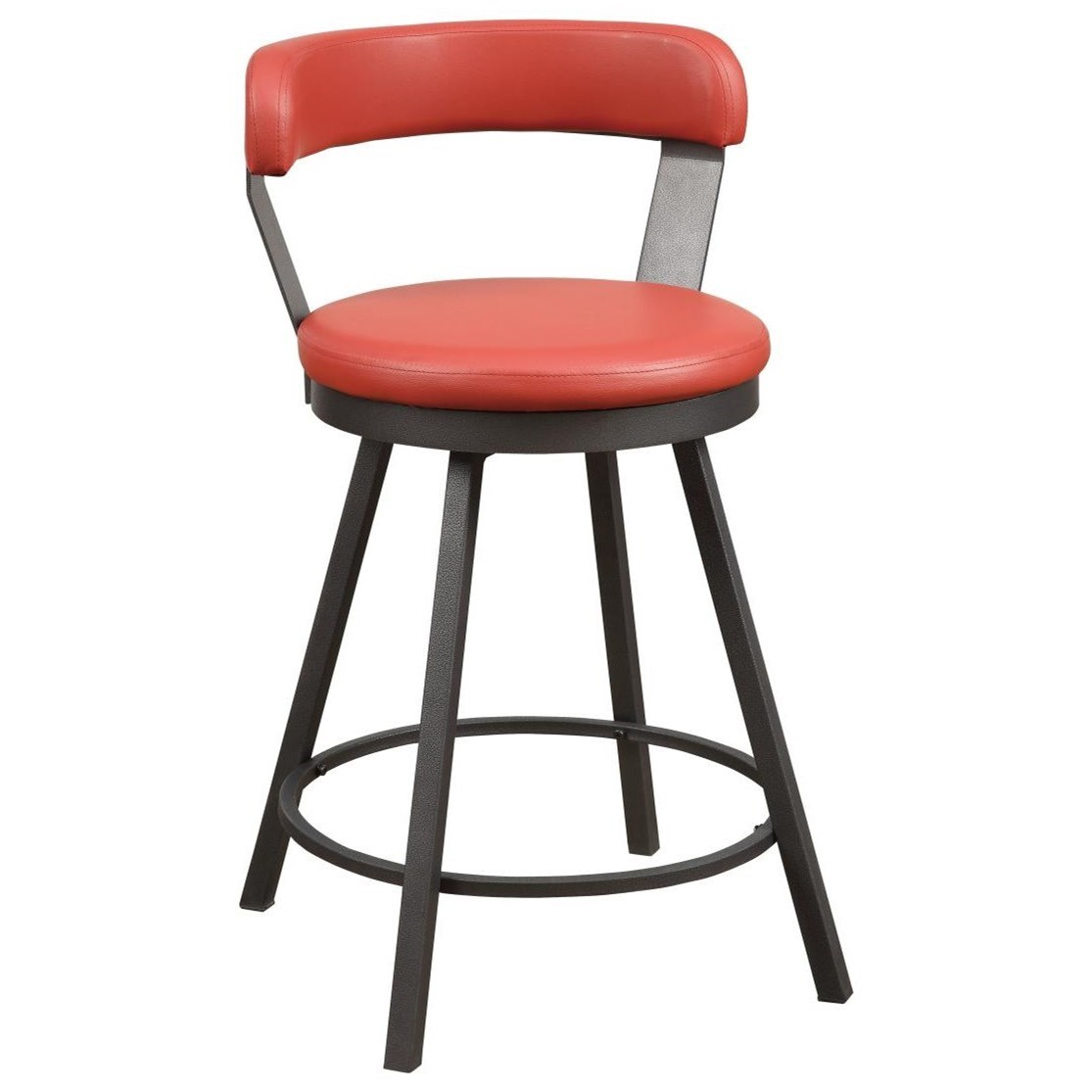 Appert Swivel Counter Height Chair by Homelegance at Value City Furniture