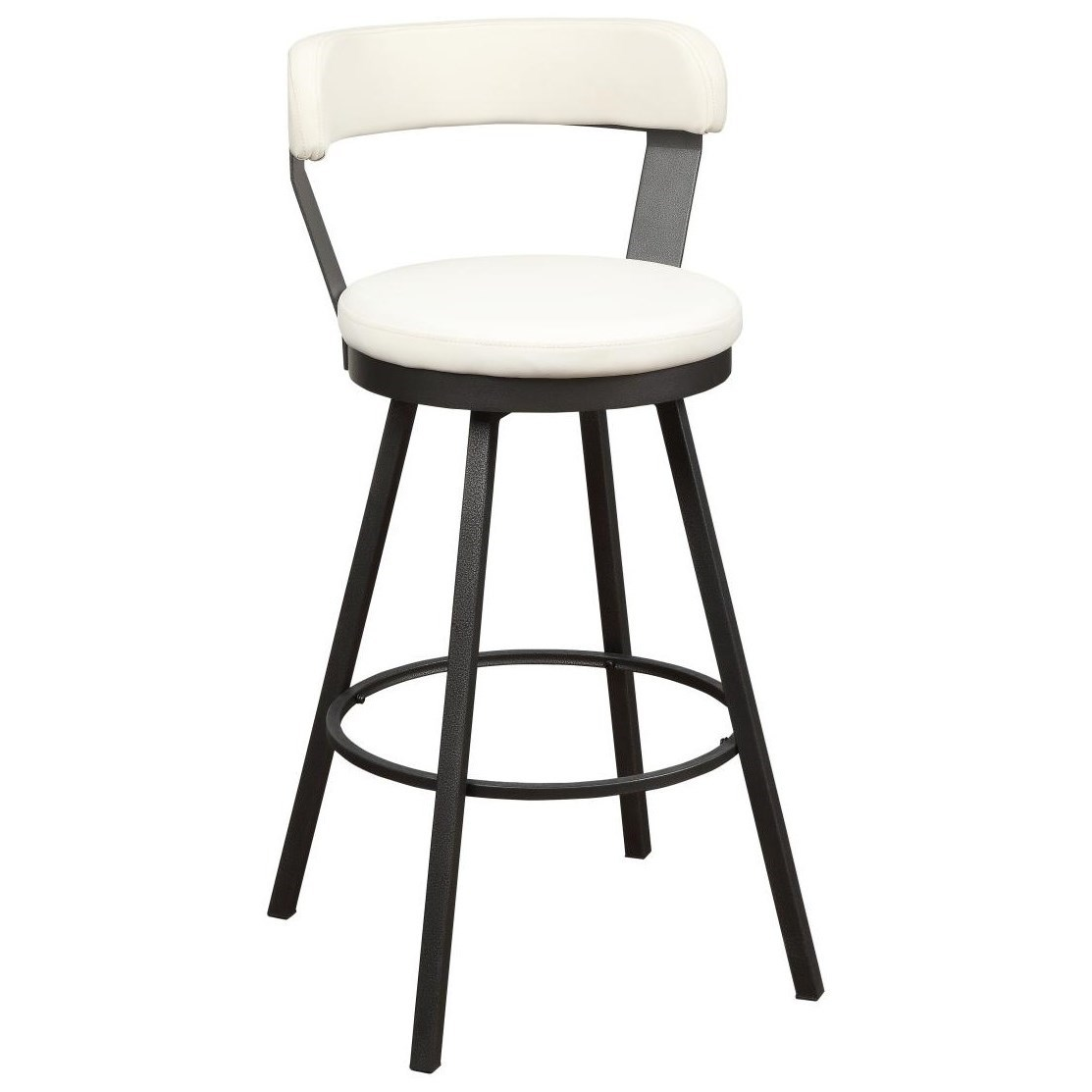 Appert Swivel Pub Height Chair by Homelegance at Rife's Home Furniture