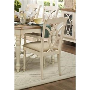 Causal Style Country Chair w/Natural Antique Finish