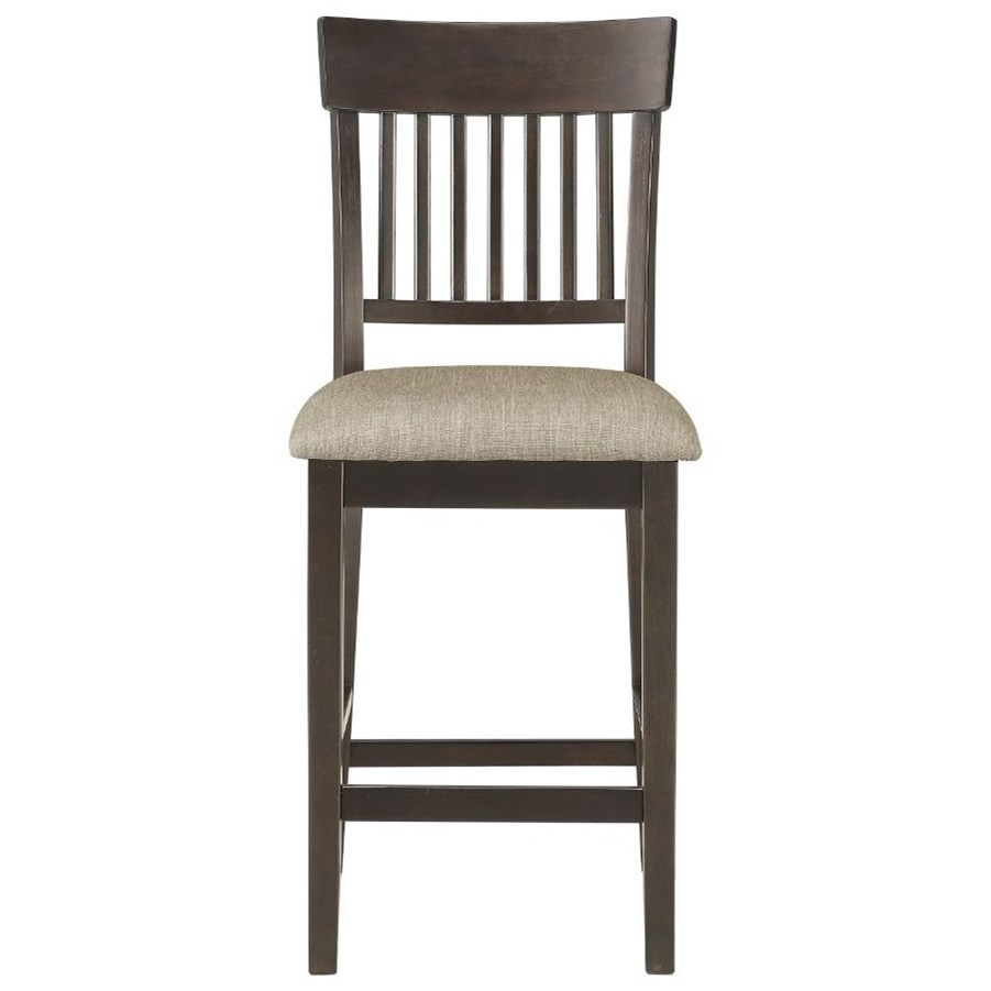 Balin Slat Back Counter Height Chair by Homelegance at Rife's Home Furniture