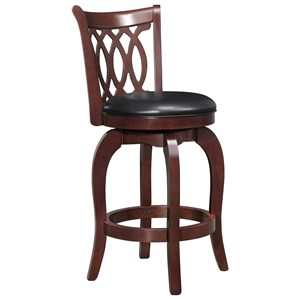 Counter Height Stool with Swiveling Seat