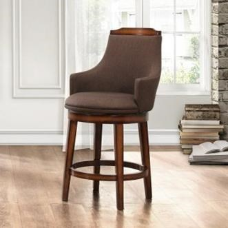 Bayshore Fabric Counter Height Chair by Homelegance at Beck's Furniture