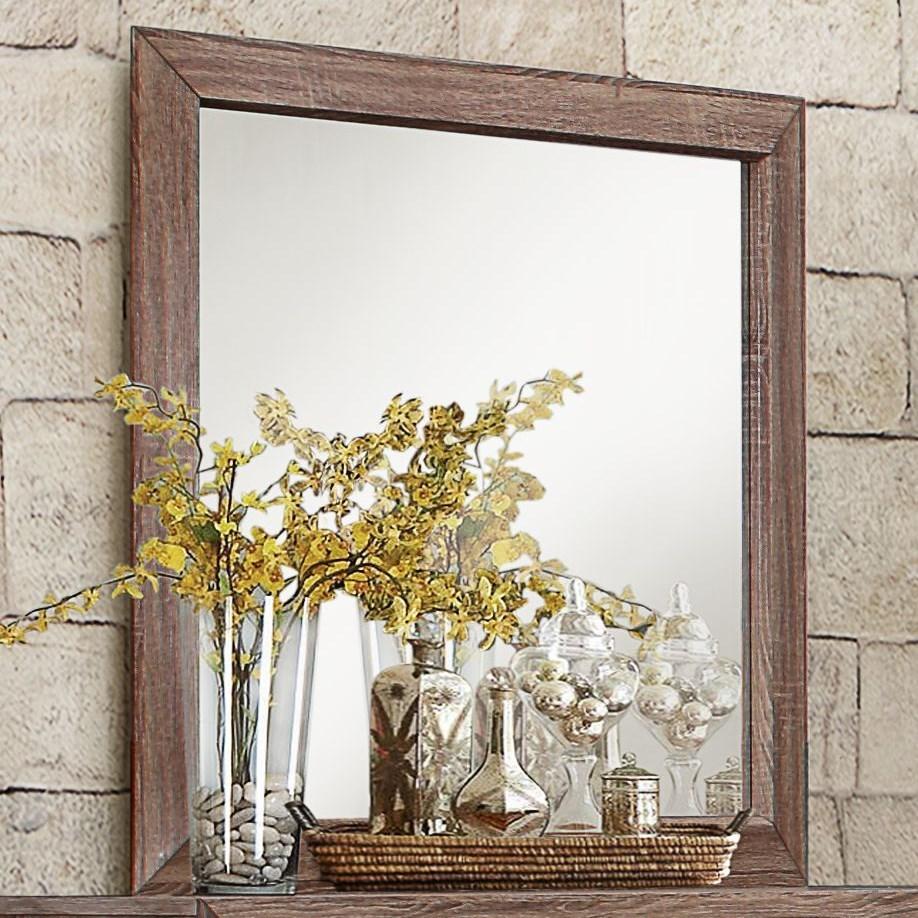 Beechnut Modern Mirror by Homelegance at Rife's Home Furniture