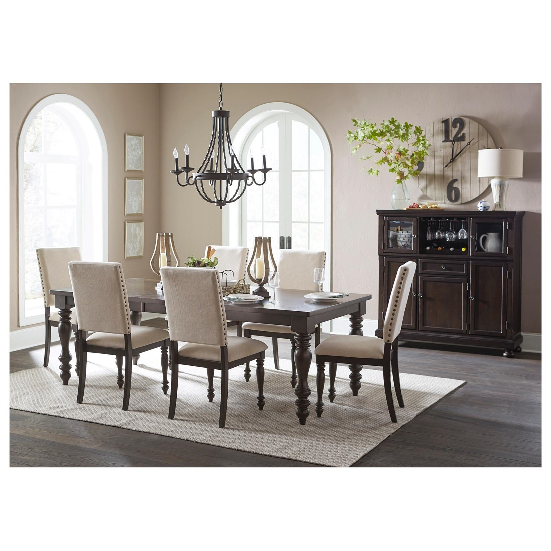 Begonia Formal Dining Room Group by Homelegance at Lindy's Furniture Company