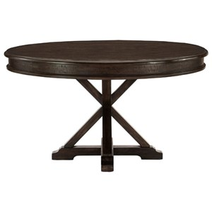 "Transitional 54"" Round Dining Table"