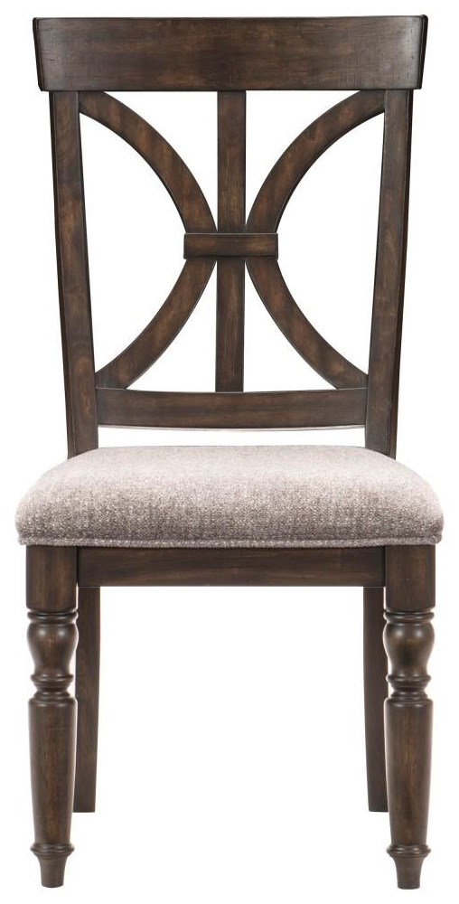 Cardano Side Chair by Homelegance at Dream Home Interiors