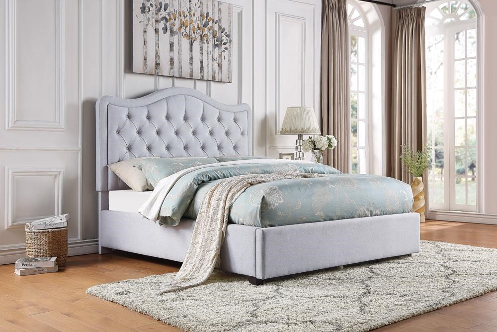 Carter Upholstered Beds Queen Upholstered Bed by Home Style at Walker's Furniture