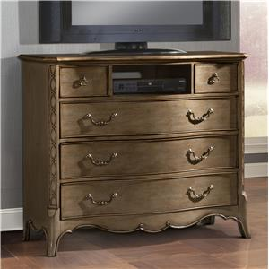 TV Chest with 5 Drawers