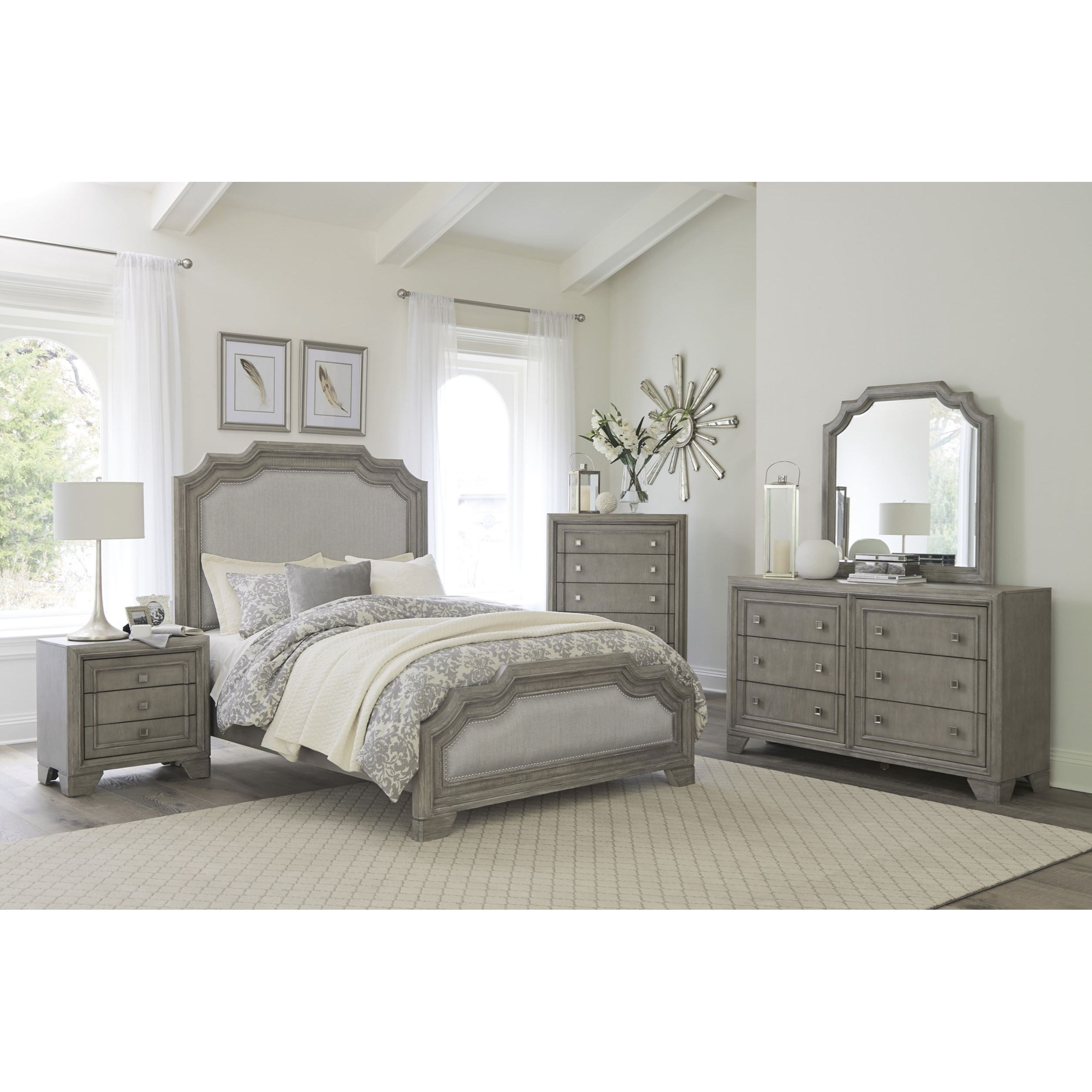 Colchester Queen Bedroom Group by Homelegance at Corner Furniture