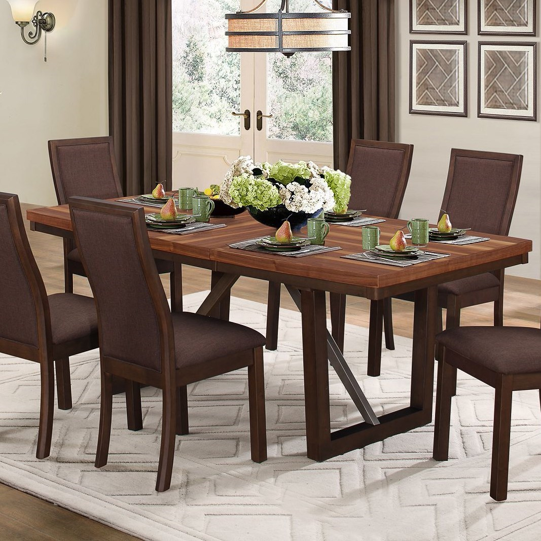 Compson Dining Table by Homelegance at Beck's Furniture