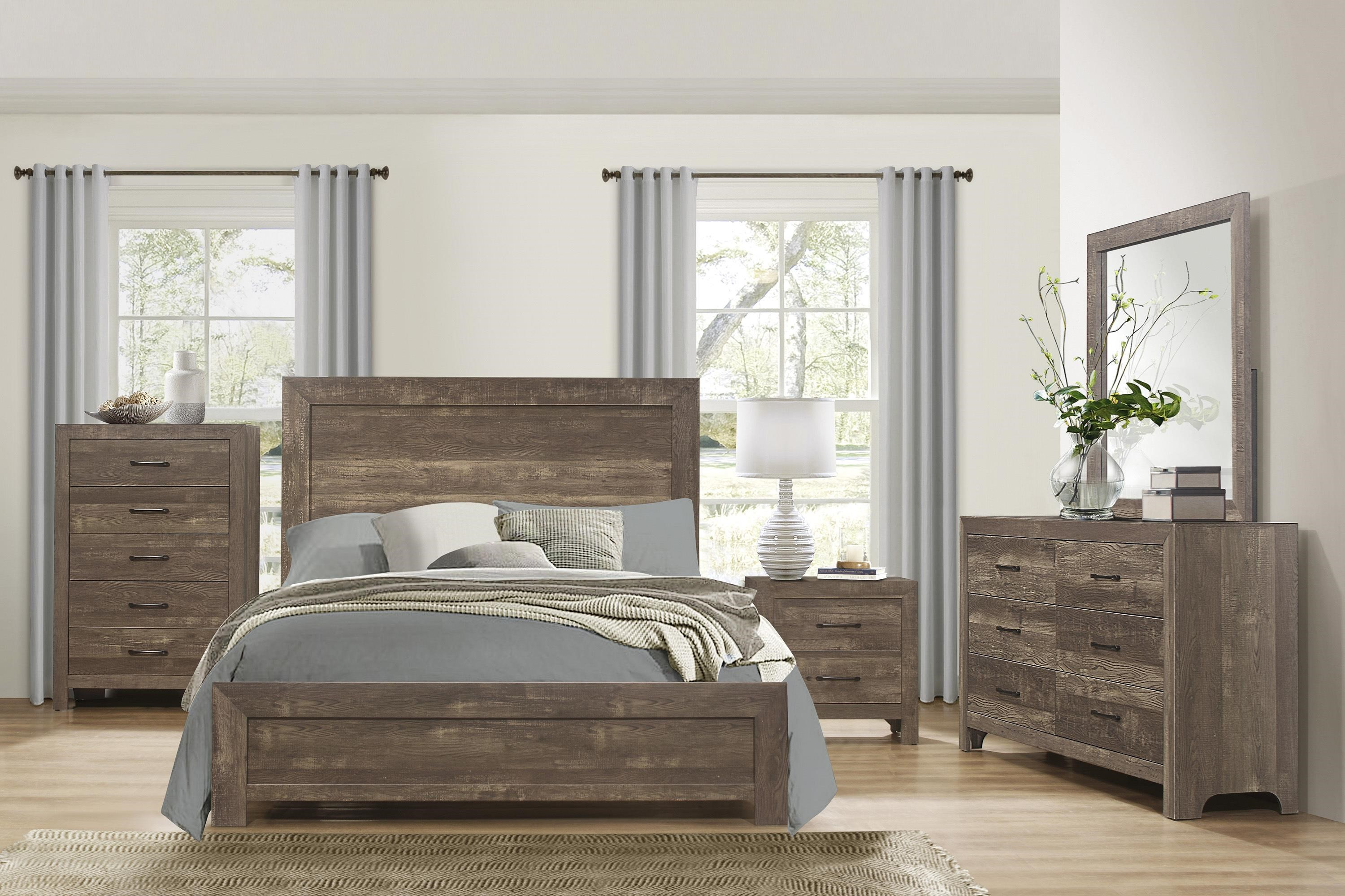 Corbin Queen Bedroom Group by Homelegance at Beck's Furniture