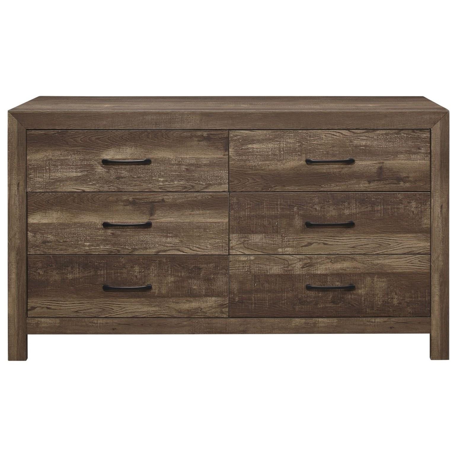 Corbin Dresser by Homelegance at Rife's Home Furniture