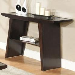 Contemporary Sofa Table w/ Shelf