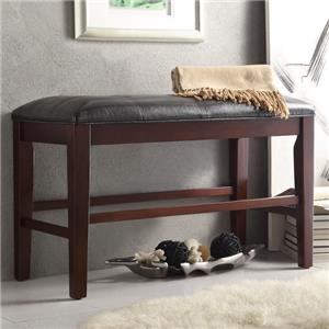 Homelegance Decatur Counter Height Dining Bench