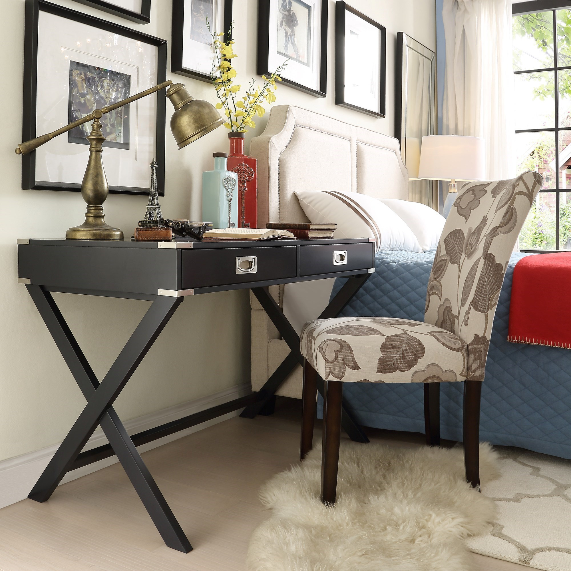 Desks X-Base Box Desk by Homelegance at Darvin Furniture