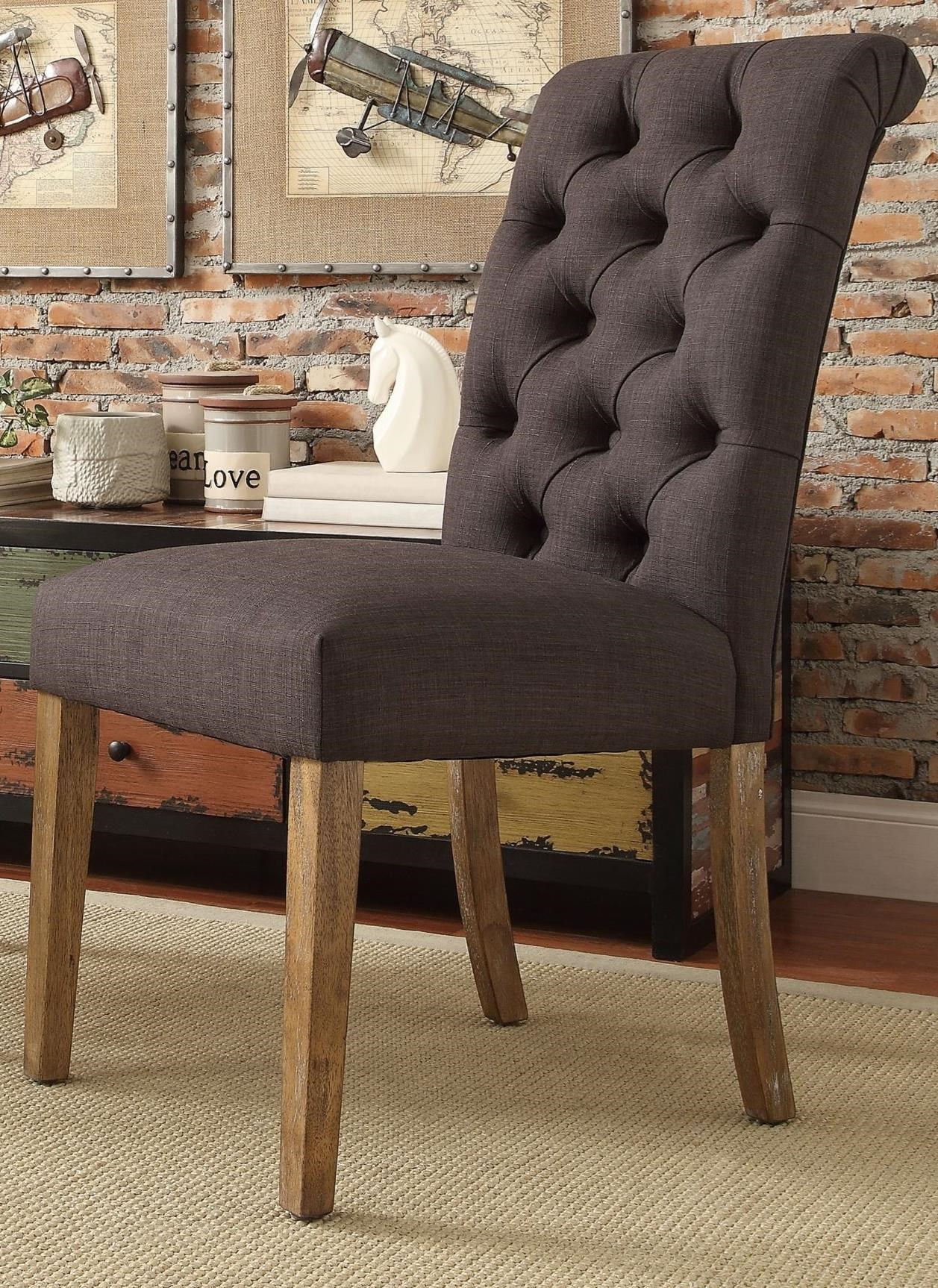 E206C Side Chair by Homelegance at Simply Home by Lindy's