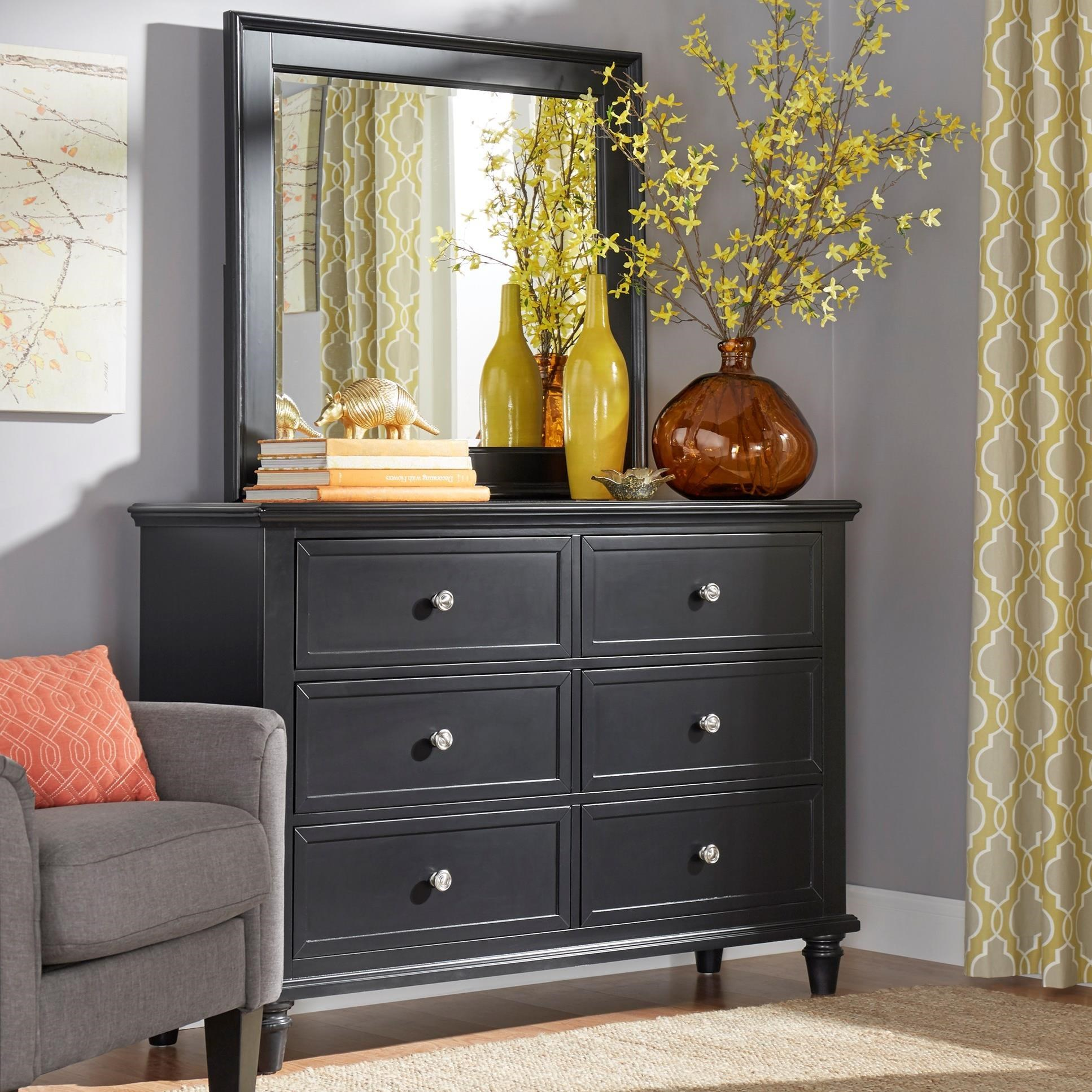 E210 Dresser and Mirror Set by Homelegance at Rooms for Less