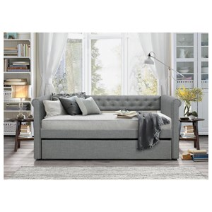 Contemporary Daybed with Trundle