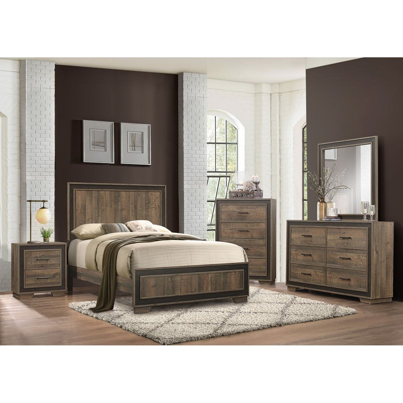 Ellendale California King Bedroom Group by Homelegance at Rife's Home Furniture