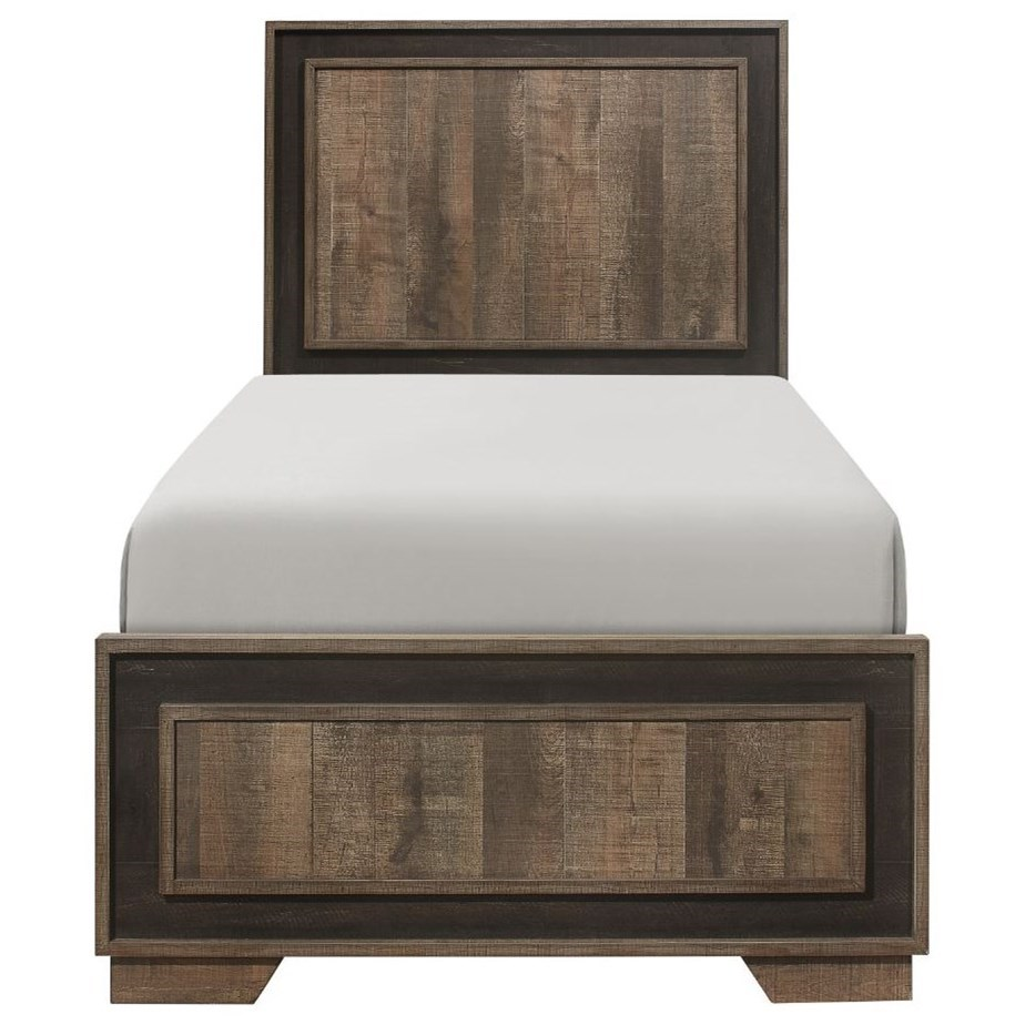 Ellendale Twin Bed by Homelegance at Beck's Furniture