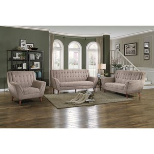 Mid Century Modern Stationary Living Room Group