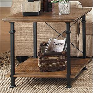 End Table with 1 Shelf