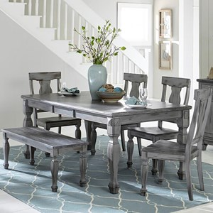 Table & Chair Set with Bench