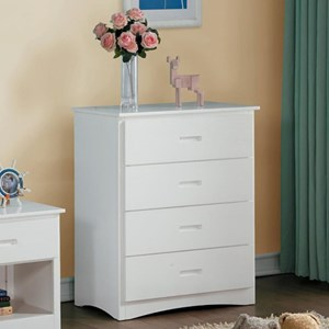 Transitional Youth Chest of Drawers