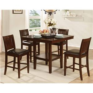 5 Piece Counter Height Table & Chair Set