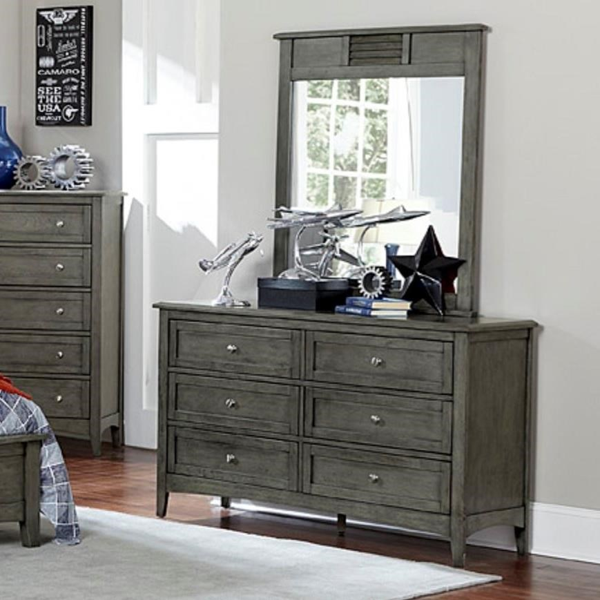 Garcia Dresser and Mirror Combo by Homelegance at Rooms for Less