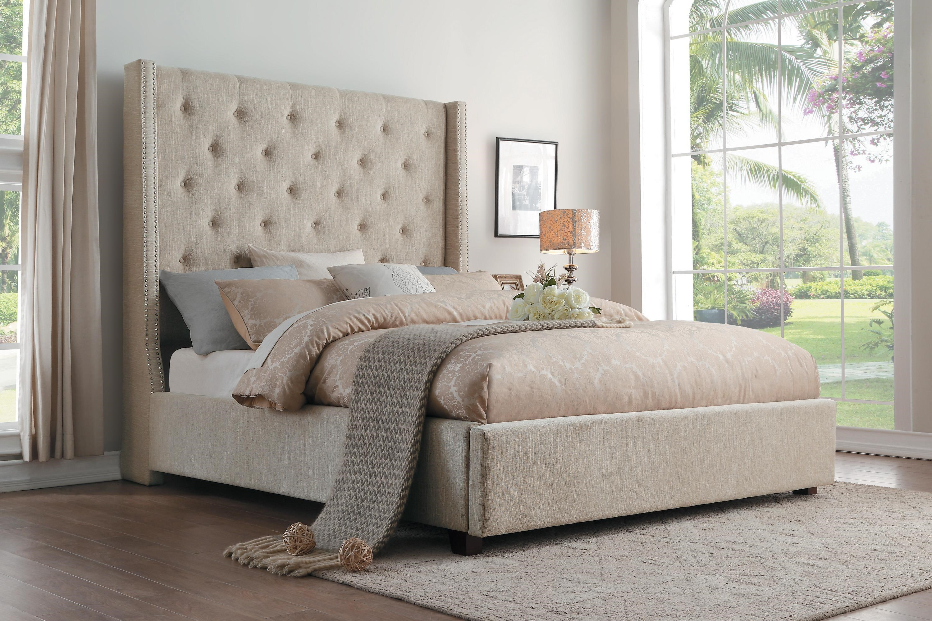 Geneva King Upholstered Bed by Home Style at Walker's Furniture