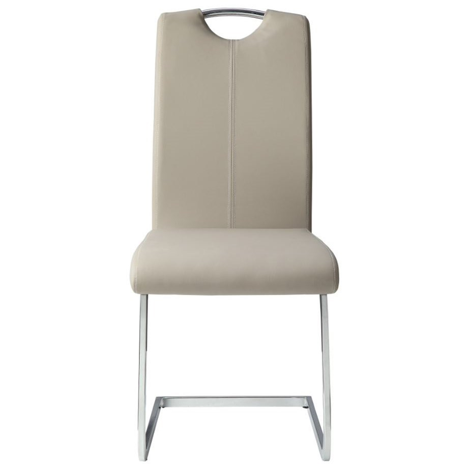 Glissand Side Chair by Homelegance at Beck's Furniture