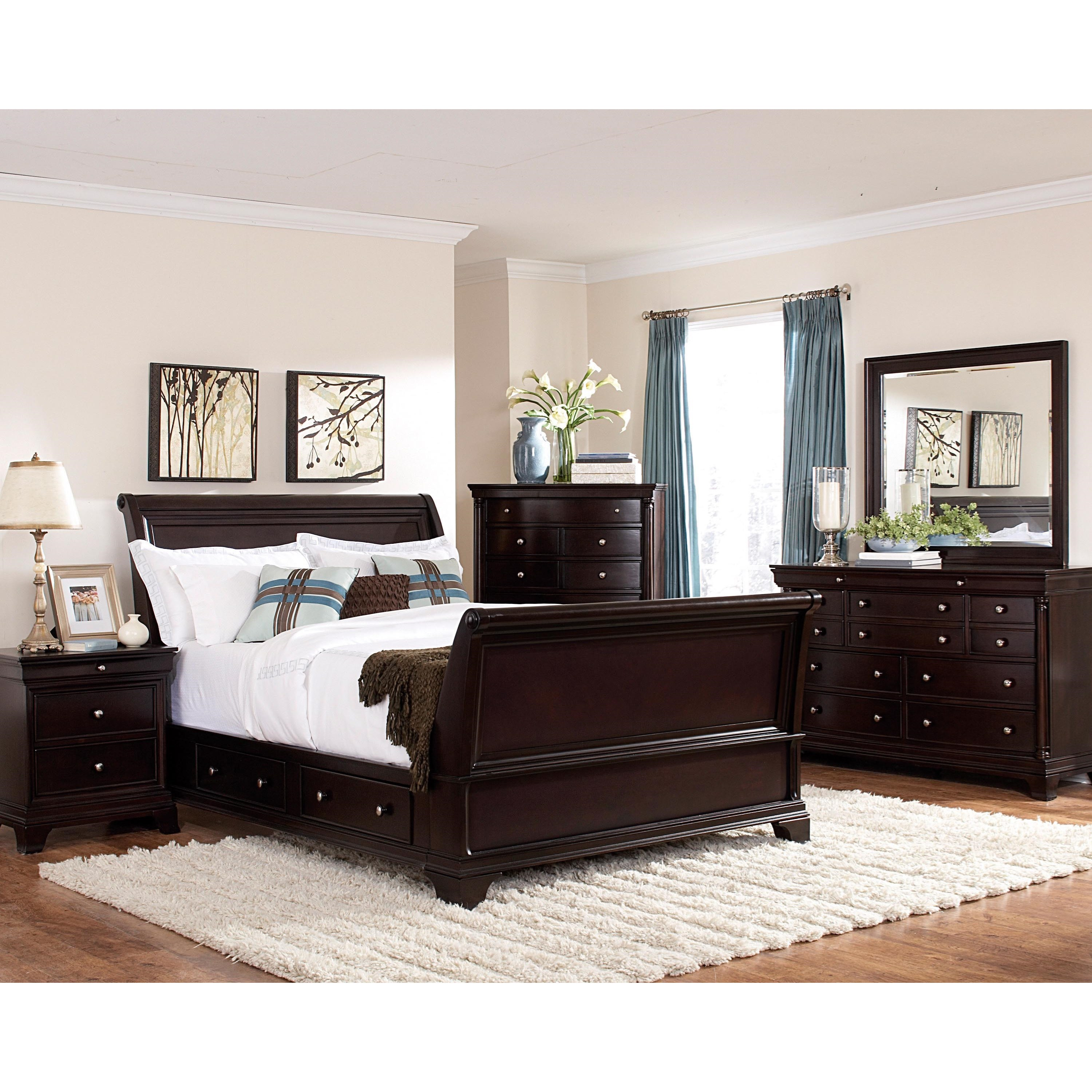 Inglewood Queen Bedroom Group by Homelegance at Nassau Furniture and Mattress
