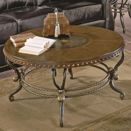 Jenkins Cocktail Table by Homelegance at Nassau Furniture and Mattress