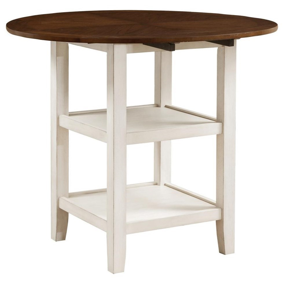 Kiwi Counter Height Pub Table by Homelegance at Nassau Furniture and Mattress