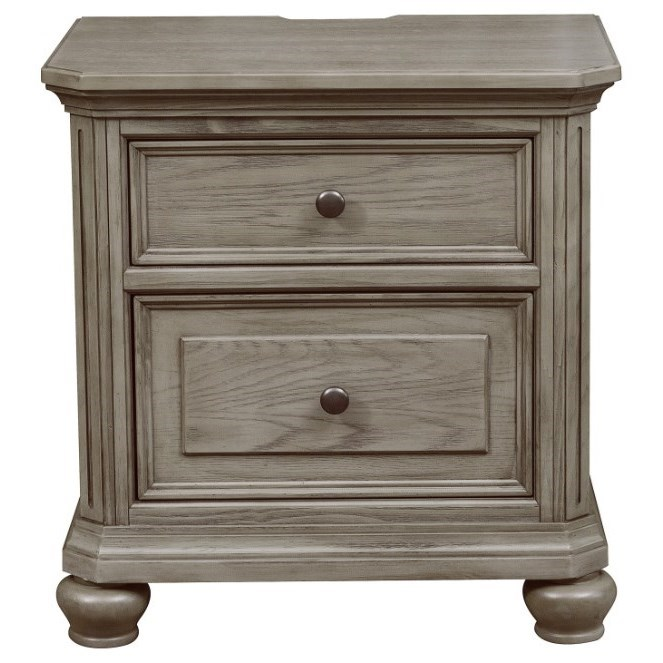 Lavonia Nightstand by Homelegance at Darvin Furniture