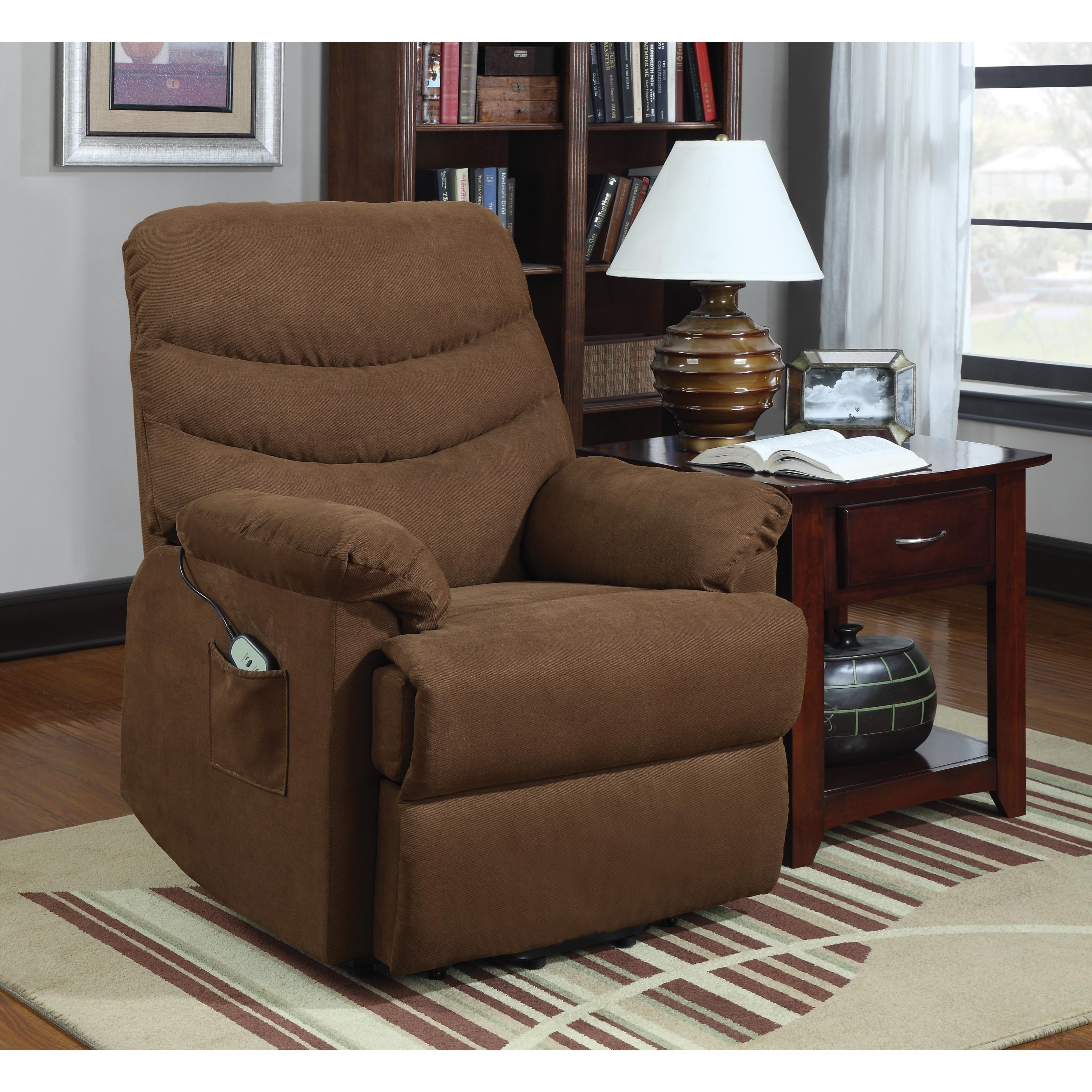 Lift Chairs Power Lift Chair by Homelegance at Beck's Furniture