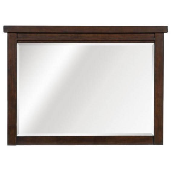 Logan Mirror by Home Style at Walker's Furniture