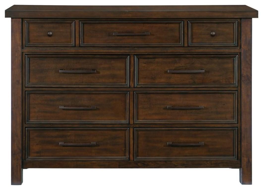 Logandale Dresser by Homelegance at Darvin Furniture