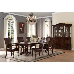 Traditional Formal Dining Room Group
