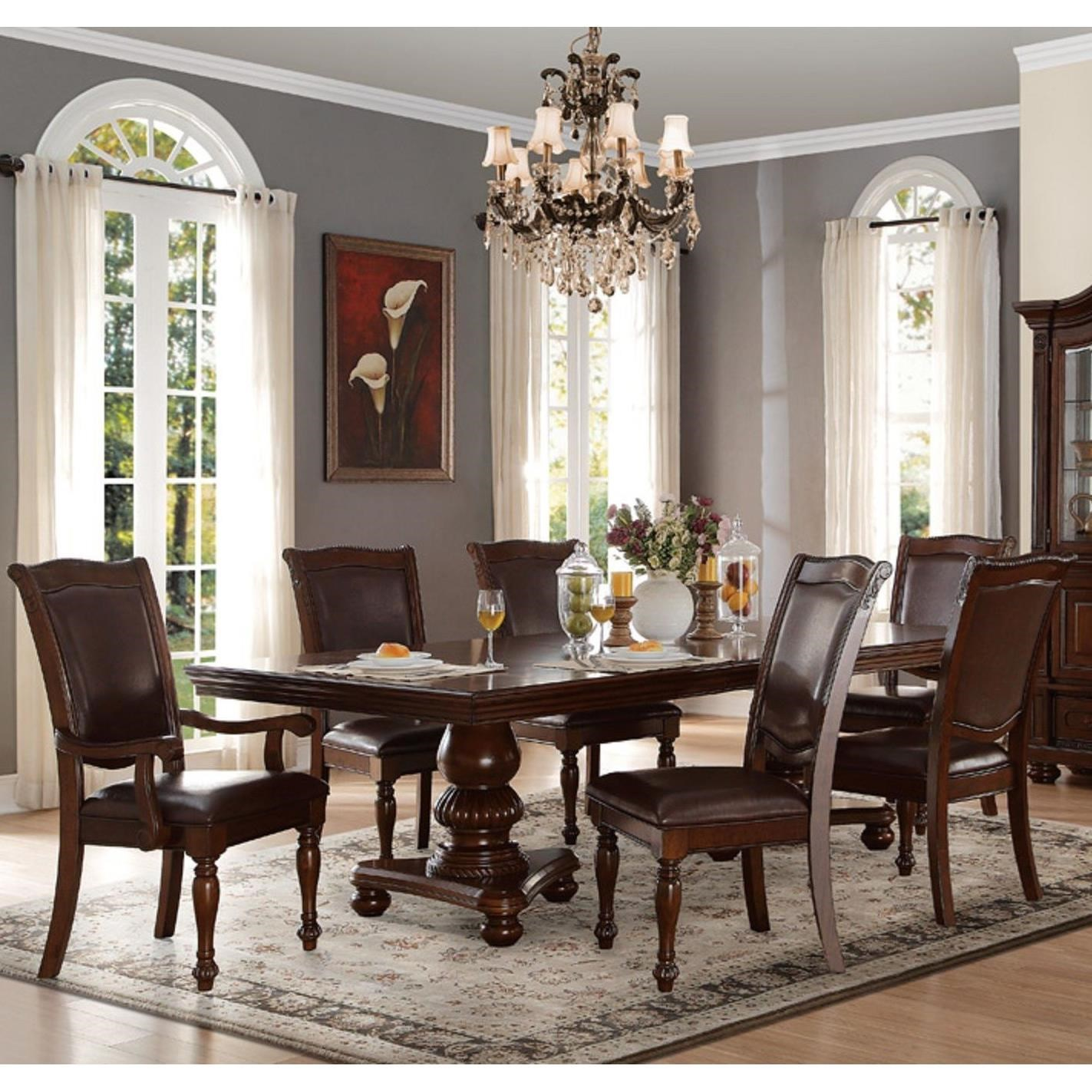 Lordsburg Table and Chair Set by Homelegance at Rife's Home Furniture