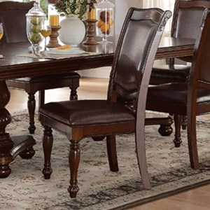 Traditional Upholstered Dining Side Chair