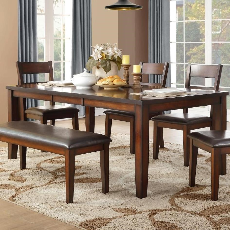 Mantello Dining Table by Homelegance at Beck's Furniture